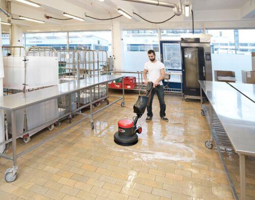 Nilfisk VIPER LS 160 HD mm macchina Pulizia Macchina Serbatoio Spazzola fai affluire