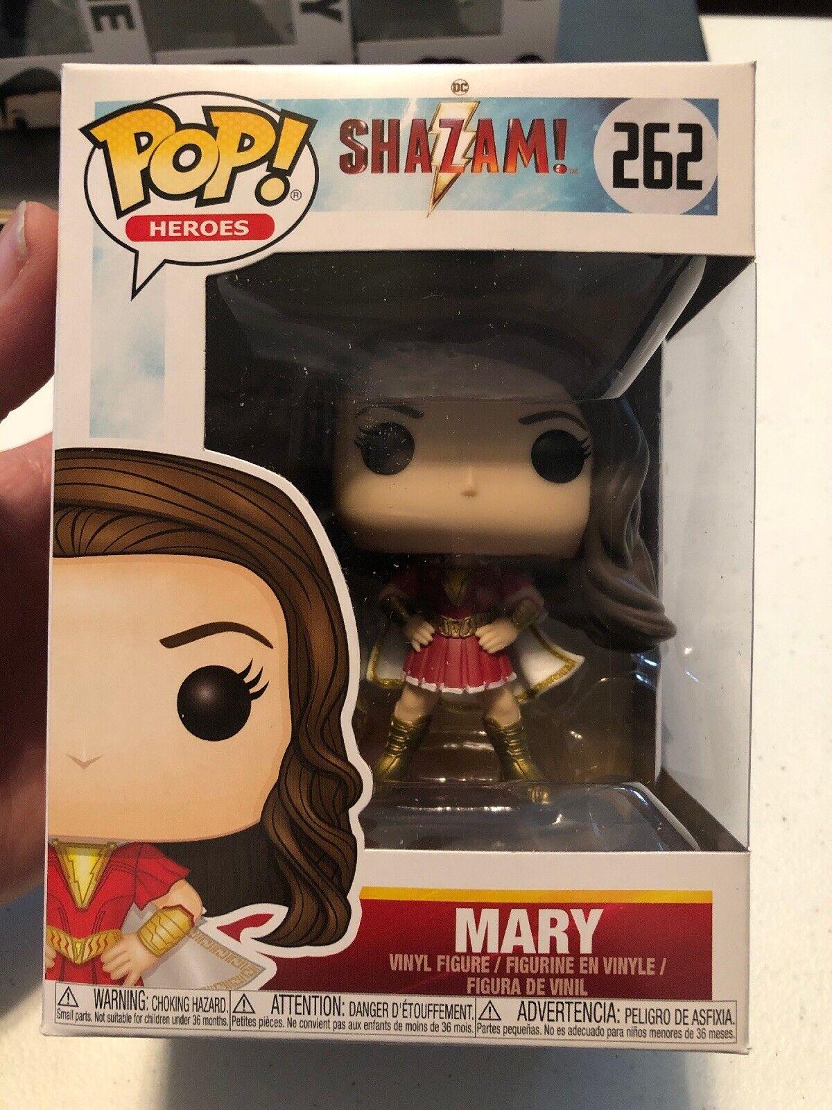 Shazam! Mary Vinyl Figure Item #36810 Funko Pop Heroes