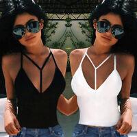Sexy Summer Vest Top Sleeveless Women Blouse Casual Tank Tops T Shirt Size S-XL