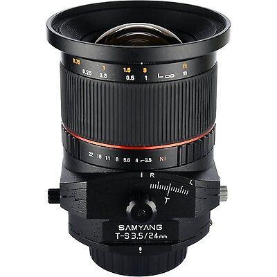 Samyang 24mm F3.5 Tilt Shift Lens for Nikon Digital SLR