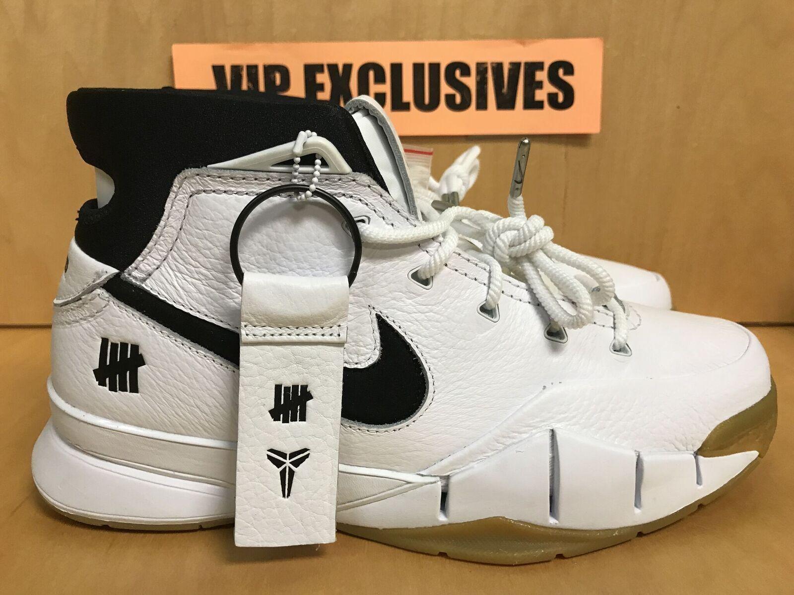 NIKE KOBE 1 PredRO UNDEFEATED WHITE AQ3635-100 LA NBA ALL-STAR EXCLUSIVE