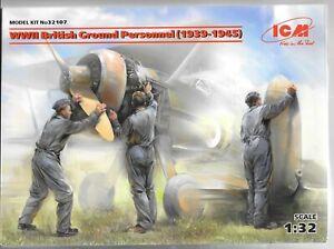 ICM-WWII-British-Ground-Personnel-1939-1945-Figures-in-1-32-107-ST