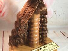 """Tallinas Acrylic Doll Wig  Size 5-6/"""" Medium Auburn Lady or BJD Style #412"""