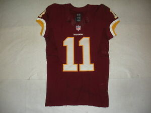 2014 DeSean Jackson Washington Redskins Game Used Worn Nike Football ... 9042abcabfc