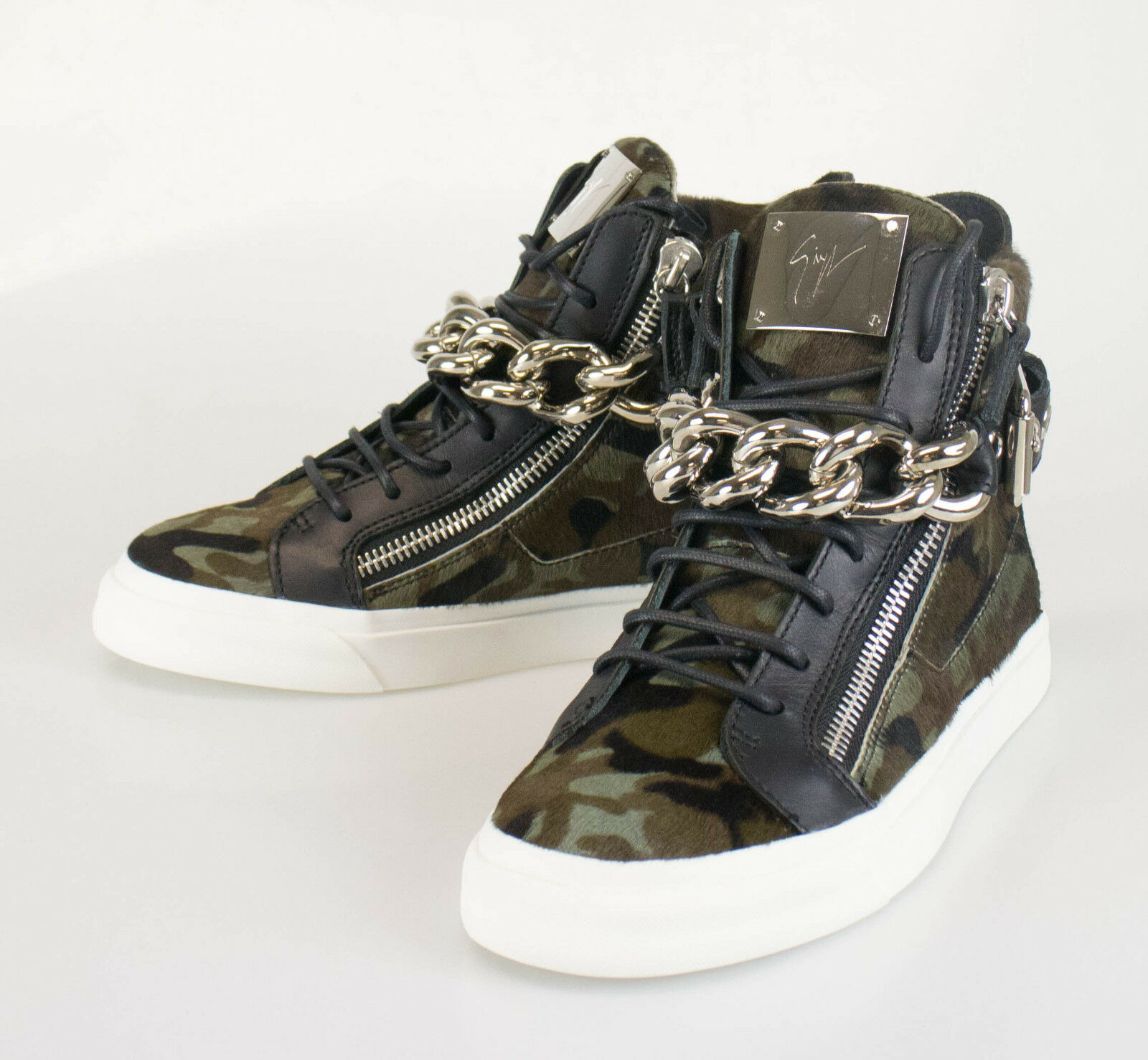 ae74c60106e87 GIUSEPPE ZANOTTI London Camuf Hi-Top Sneakers shoes Size 7 40 EU US New.  npjupt5842-Trainers