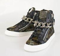 New. Giuseppe Zanotti London Camuf Hi-top Sneakers Shoes Size 7 Us 40 Eu $1300 on sale