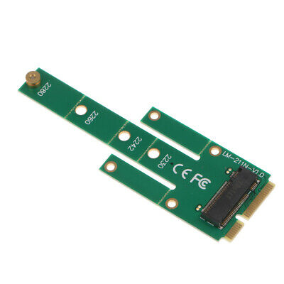 M chiave per mSATA Mini PCI-E SATA 3.0 SSD Maschio Adattatore Convertitore Video Card NGFF M.2 B