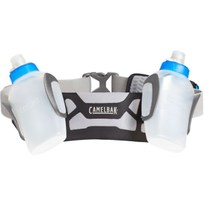 CamelBak-Arc-2-O-S-10-oz-Hydration-Runner-Water-Belt-Black-Electric-Blue-Running