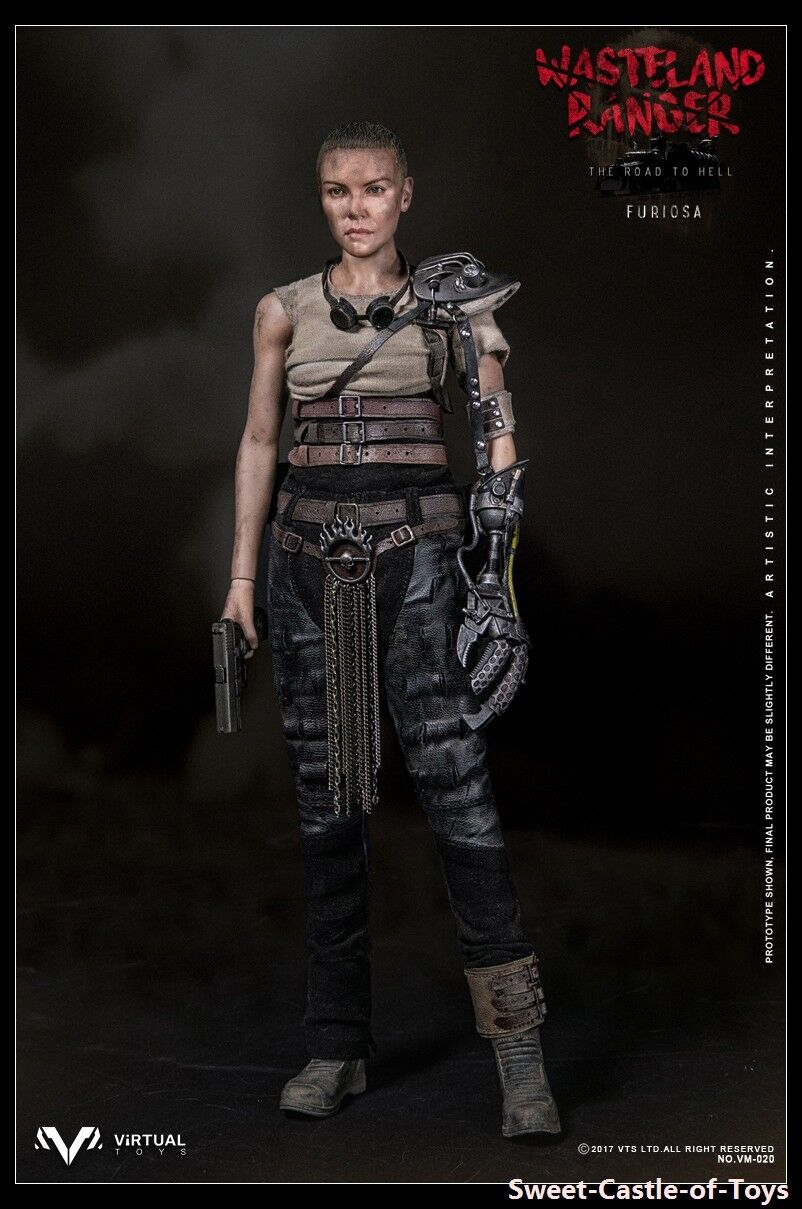 1 6 VTS Toys Vm-020 Wasteland Ranger The Road To Hell Furiosa Statuetta Vm020