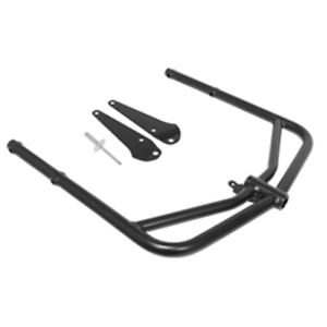 Black For 2015 Polaris 600 Rush PRO-S~Sports Parts Inc. Rear Bumper//Receiver