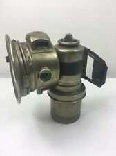 Antique Miller Bicycle Motorbike Lamp - Carbide Acetylene gas - 1920's