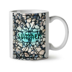 Summer Season Sea NEW White Tea Coffee Mug 11 oz | Wellcoda
