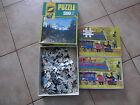 jeu jouet ancien année 60 - 70 2 puzzles 35 et 500 pieces