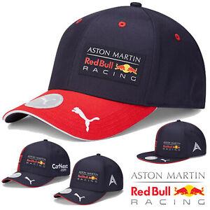 New! 2020 Red Bull Racing F1 Team Caps Max Verstappen Alex Albon Adult & Kids