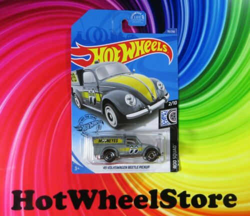 2020  Hot Wheels  Dollar General  Gray  /'49 VOLKSWAGEN BEETLE PICKUP   #95  HW65