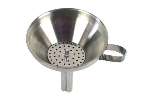 Flaschentrichter Trichter Einfülltrichter Einmachtrichter  m.Sieb Ø 13cm