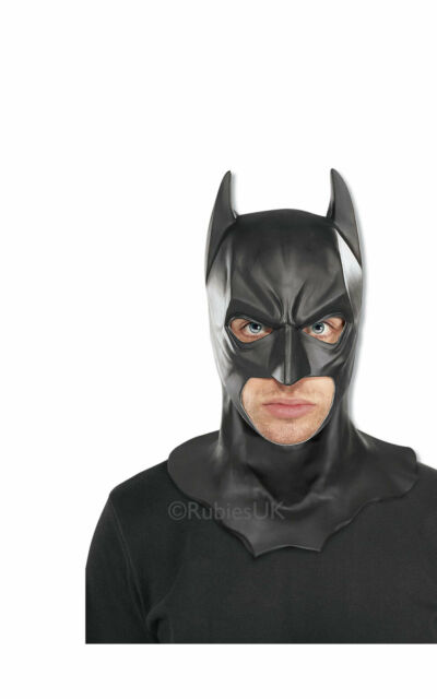 Adulto Maschera Batman Costume Supereroe Accessorio Festa