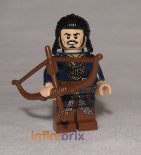 Lego Bard the Bowman from Set 79017 Battle of Five Armies Hobbit NEW lor092