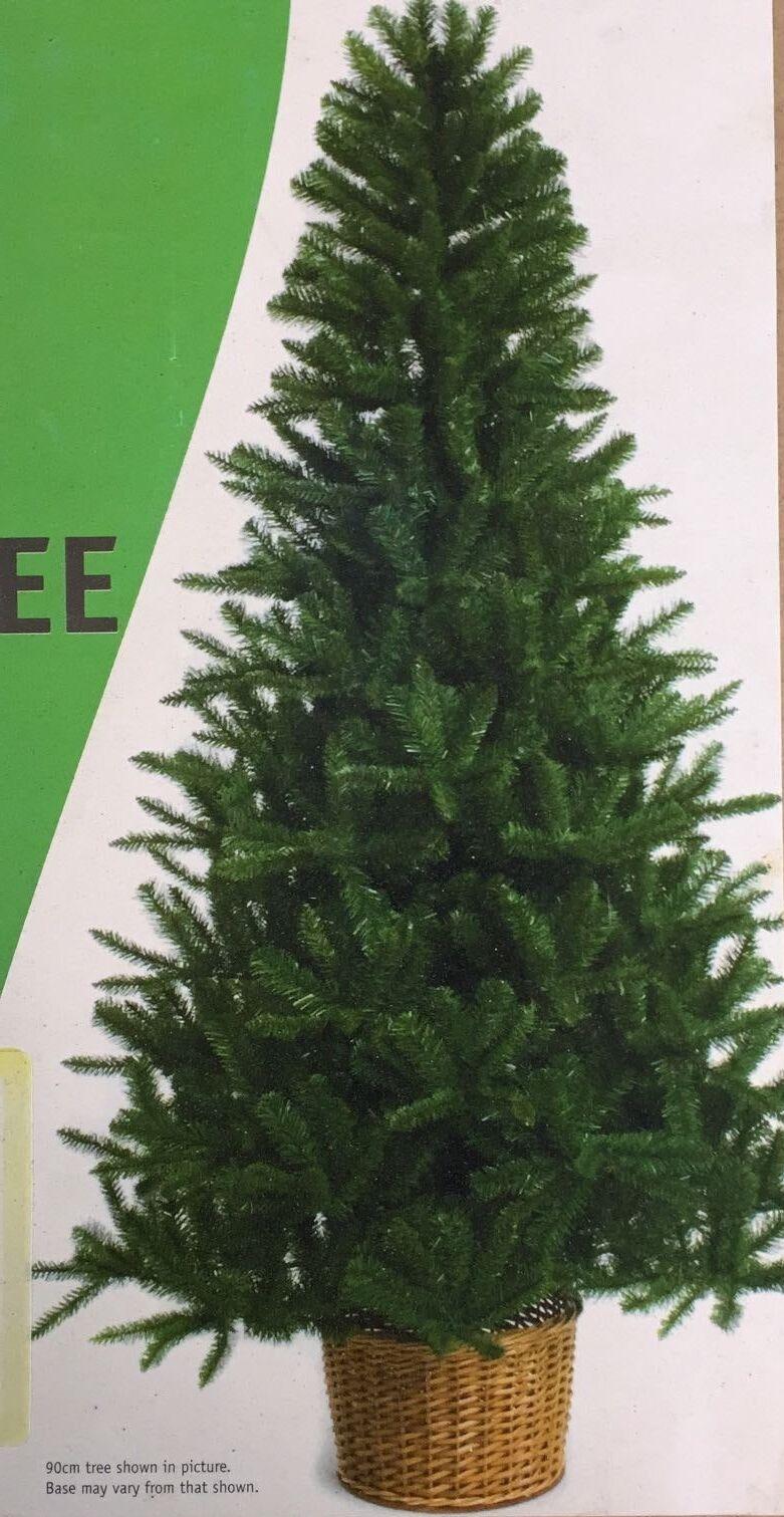 Cesta de producciones festivo árbol noble, 1.5m (5ft)  28D115
