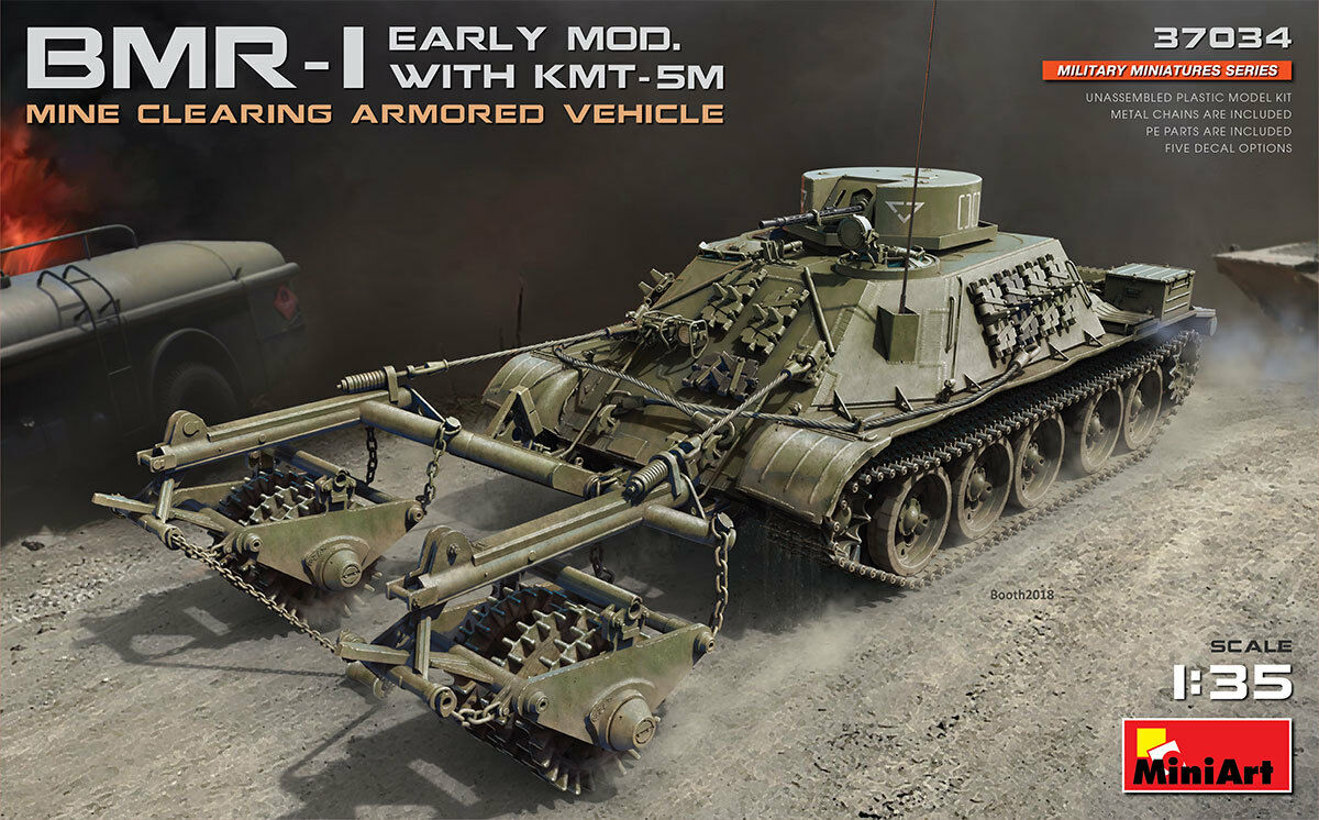 Miniart 1 35 BMR-1 - Early Mod. with KMT-5M New Release