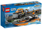 Lego City Great Vehicles 4x4 With Powerboat 60085
