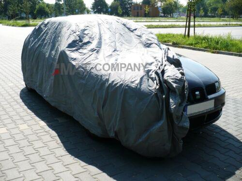 Auto KFZ Abdeckplane Full Car Cover Vollgarage Schutzhülle Universal Plane M