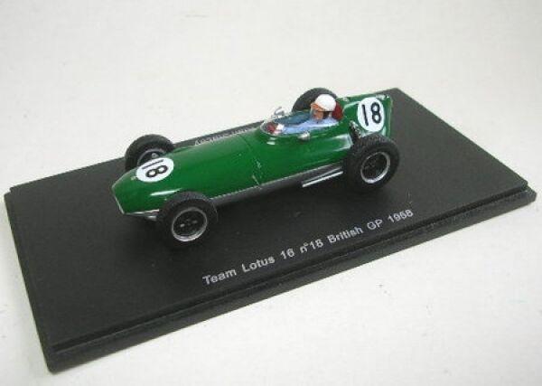 Lotus 16 No. 18 Alan Stacey British GP 1958