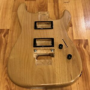 KNE-USA-Swamp-Ash-HH-Super-Strat-Body-Contour-Heel-Floyd-Rose-Light-Weight-Load