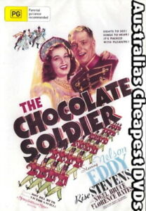 The-Chocolate-Soldier-DVD-NEW-FREE-POSTAGE-WITHIN-AUSTRALIA-REGION-ALL
