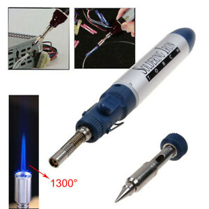 1300-Celsius-Butane-Gas-Blow-Torch-Soldering-Iron-Gun-Cordless-Welding-Pen
