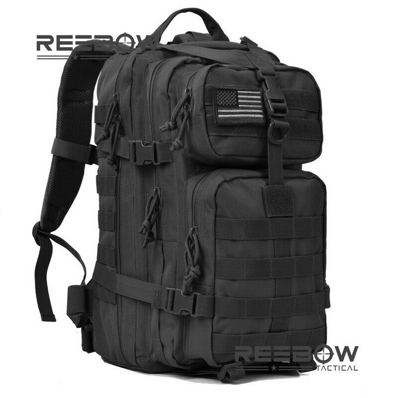 Military Tactical Backpack Assault Pack Molle Waterproof Bug Out Bag R... - s l1600