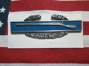 US-ARMY-COMBAT-INFANTRY-BADGE-CIB-1ST-AWARD-DATED-12-90-NIP