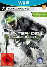 Tom Clancy's Splinter Cell: Blacklist (Nintendo Wii U, 2013, DVD-Box)