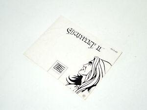 GAUNTLET-II-nintendo-NES-MANUAL-ONLY