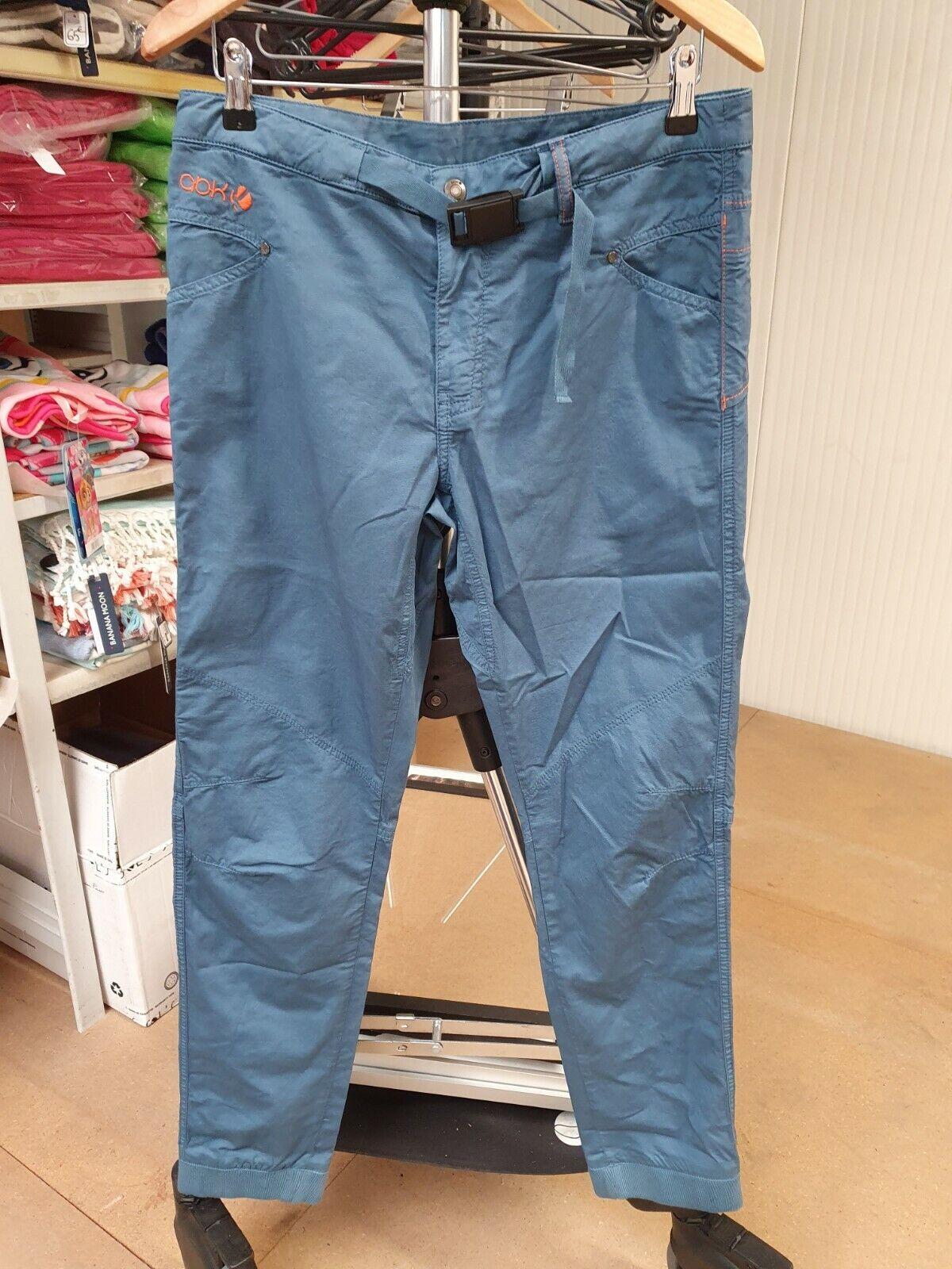 ELO1 #20 Trousers Sport Man - Brand Abk - Blue - Model Cliff Light