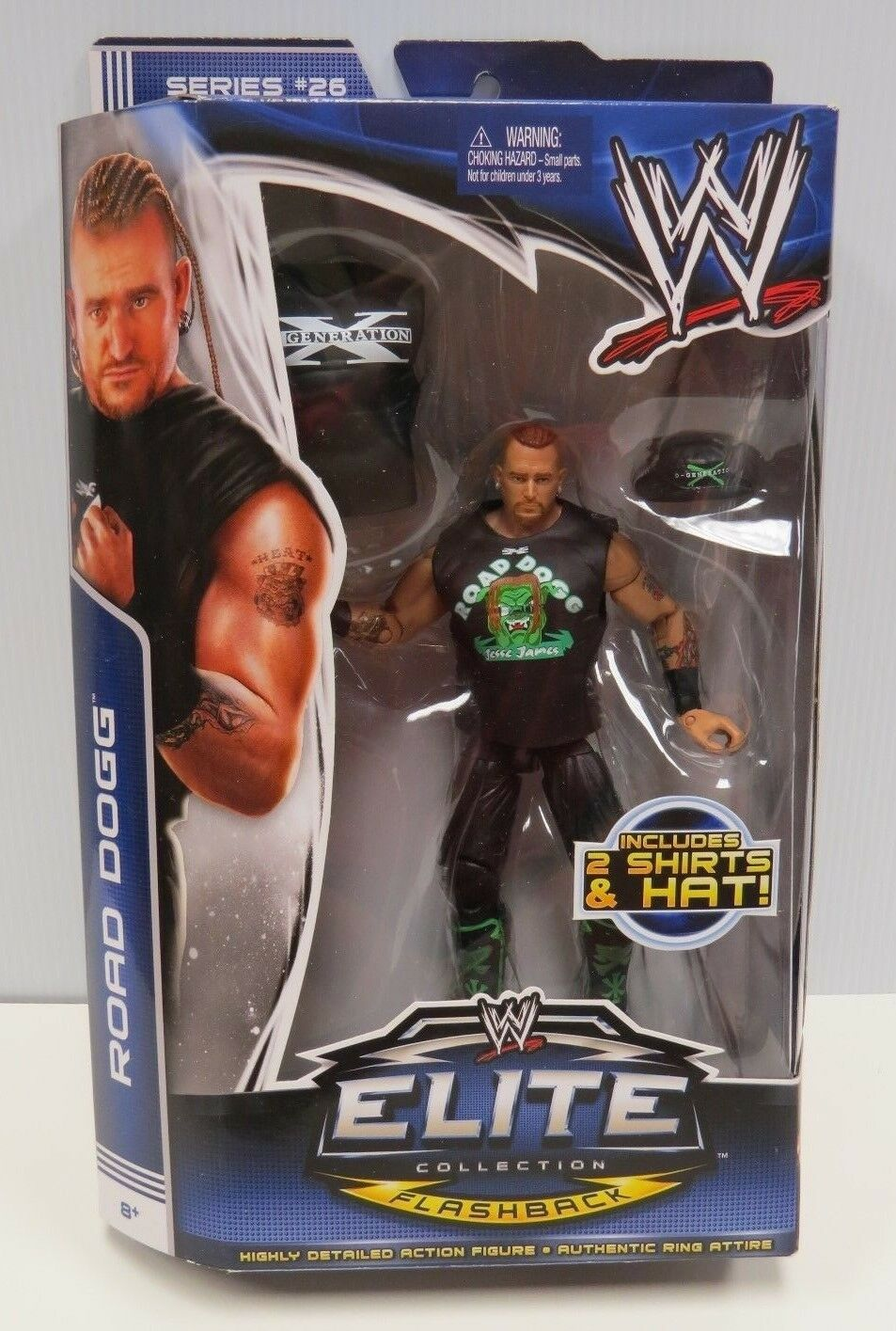 ROAD DOGG WWE ELITE COLLECTION ACTION FIGURE SEALED SERIES 26