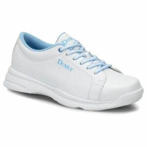 Damen-Bowlingschuhe-Dexter-Raquel-V-white-blue-sehr-leicht-und-bequem