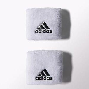 Cenagal rodillo yeso  NWT ADIDAS 2PK 1 pair white/black logo Sweatbands WRISTBANDS TERRY LOOP  S21998 | eBay