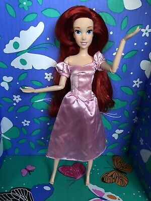 NIB NEW!! Disney Princess Style Series Ariel The Little Mermaid in Pink Dress