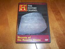ROSETTA STONE Ancient Egypt Secrets Egyptian Hieroglyphics History Channel DVD