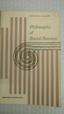 Philosophy of Social Science (Foundations of Philosophy)  by Richard S. Rudner