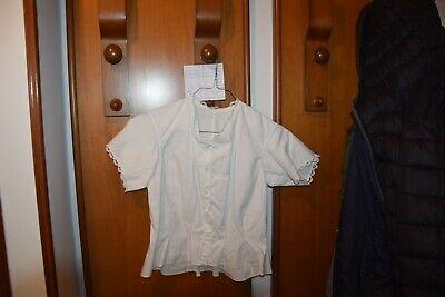 Antica Camicia Cotone Manica Corta B15 (3) Chemisette Blouse^ Irrestringibile