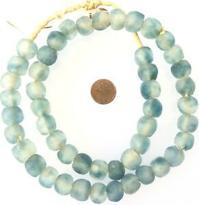 Sky-Blue-Multi-Made-in-Ghana-Recycled-glass-African-trade-beads-Ghana-14m