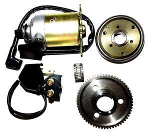 TOMBERLIN CROSSFIRE 150 150R 150CC GO KART STARTER MOTOR CLUTCH SOLENOID RELAY