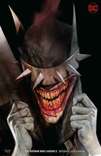 Batman Who Laughs #1-7Main /& Variants IssuesDC Comics2019 NM