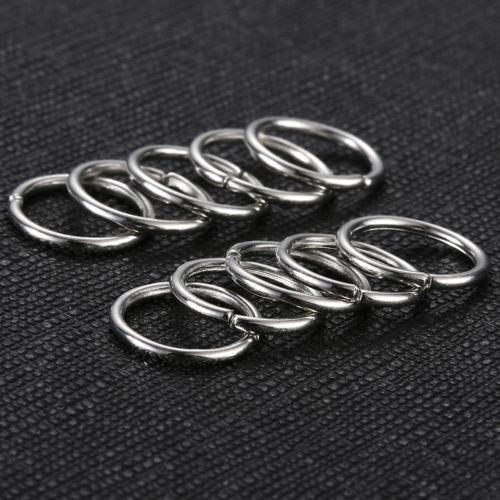 40pcs Boho Women Lady Hip-Hop Braid Gold Silver Ring Hair Clip UK-STOCK C184
