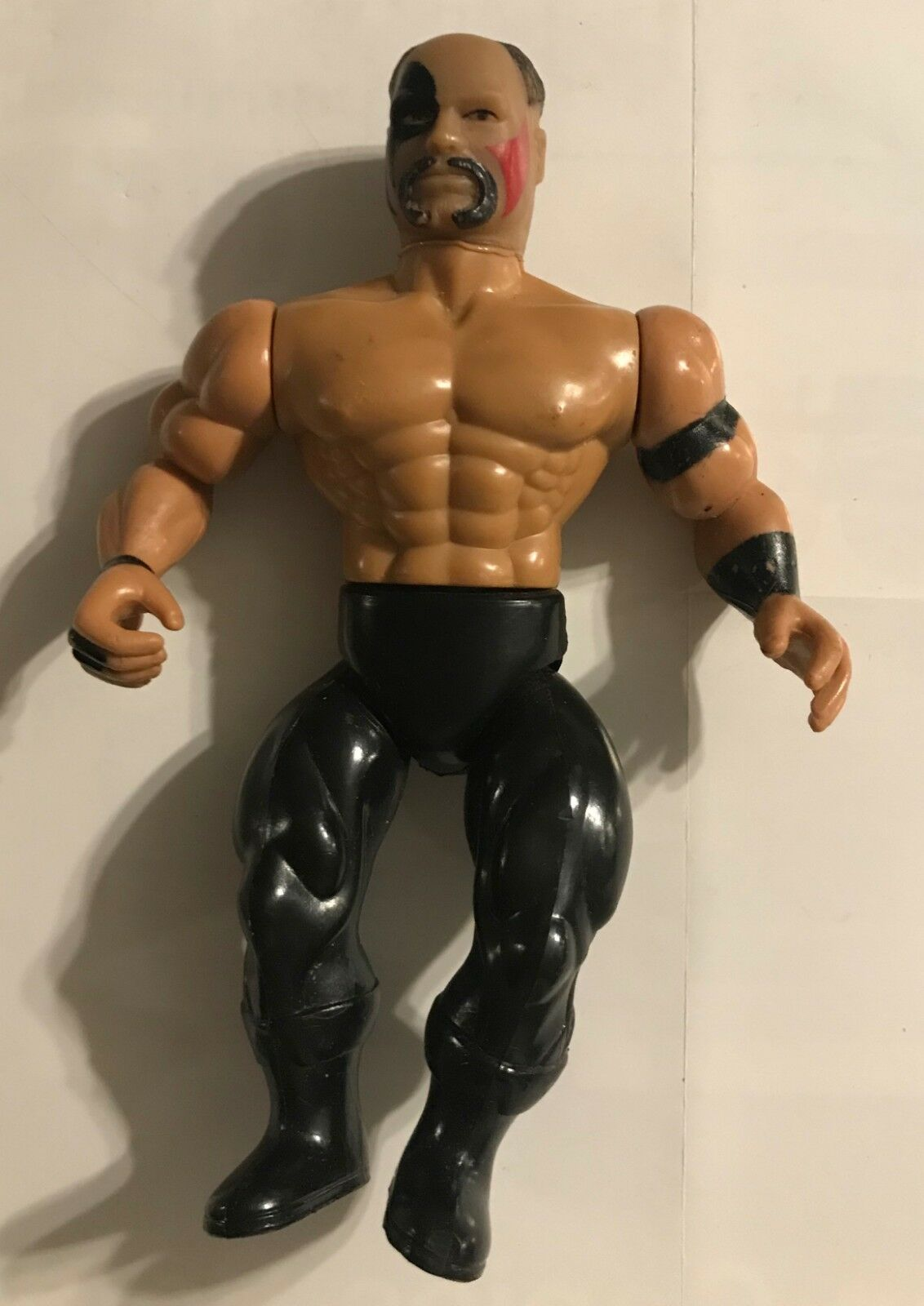 1985 WCW  AWA HAWK HAWK HAWK  6 INCH POSEABLE  Action Figure - USED 574576