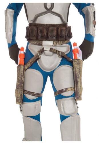 Licensed STAR WARS 2 Jango Blasters /& Holster Kit
