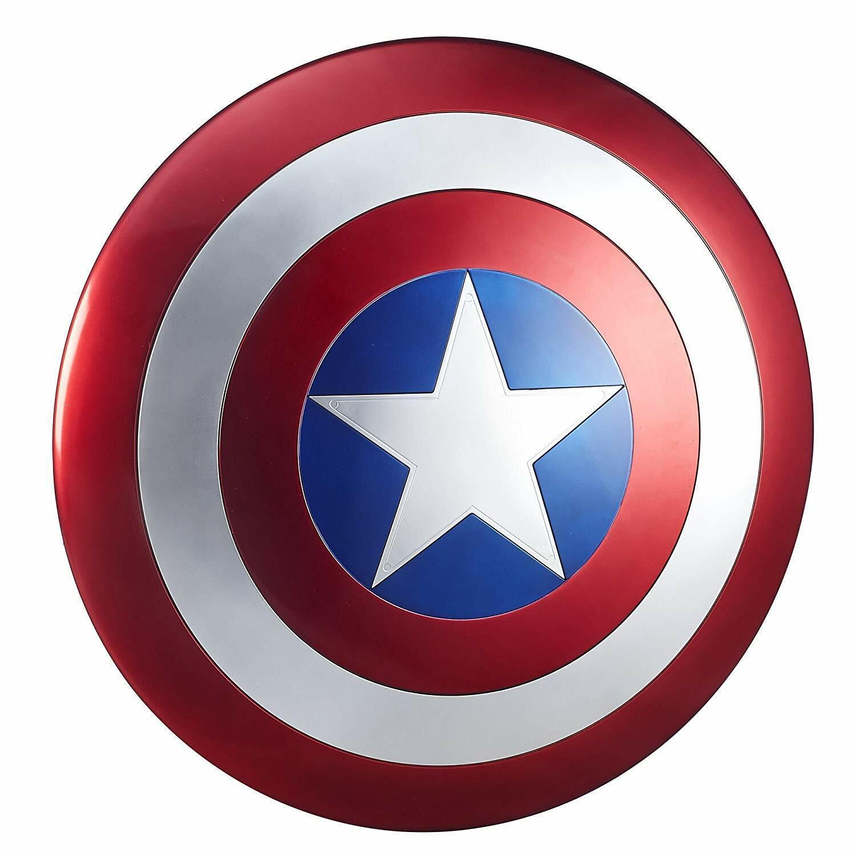 Marvel Legends FullSize Captain America Avengers Defense Shield Adjustable Strap