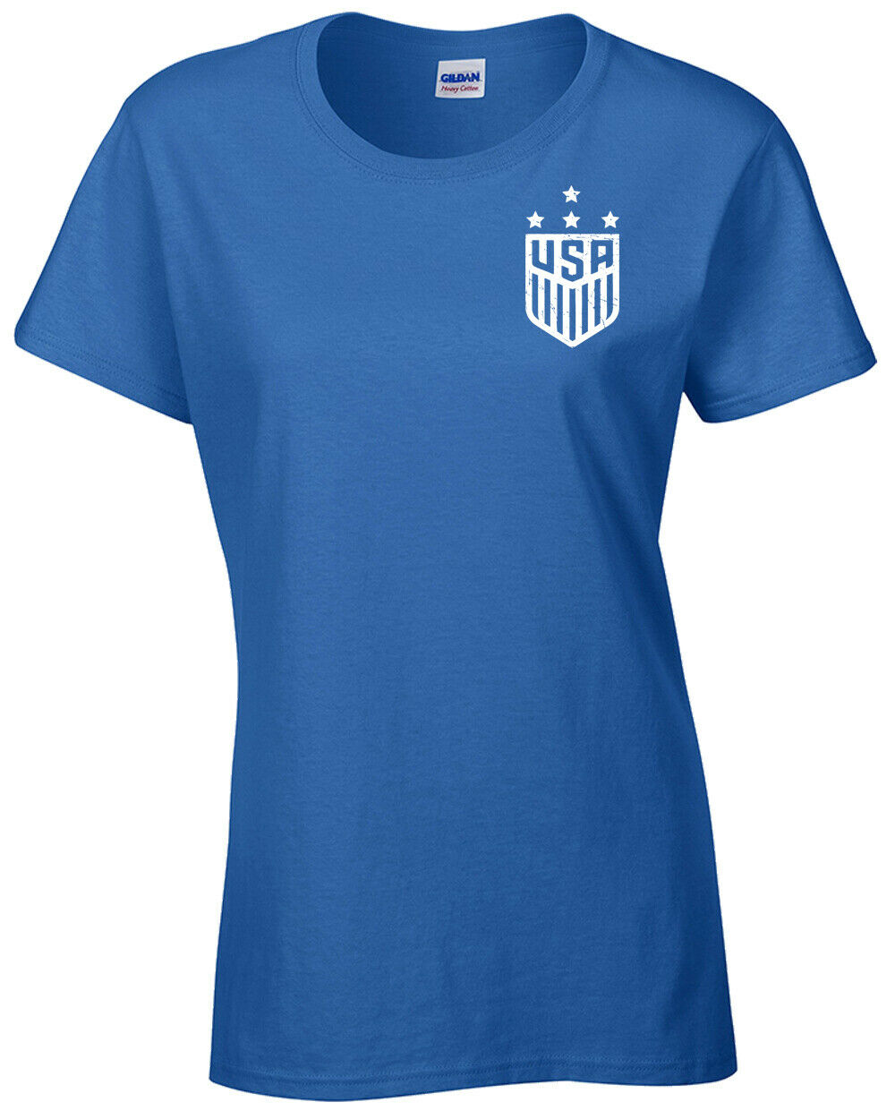 BECKY SAUERBRUNN United States Women/'s Soccer Team 2 Sides LADIES Tee Shirt 1188